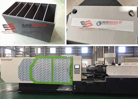 Battery box molding line