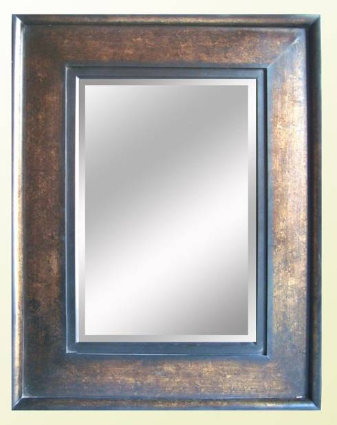 Frame for the simple mirror frame