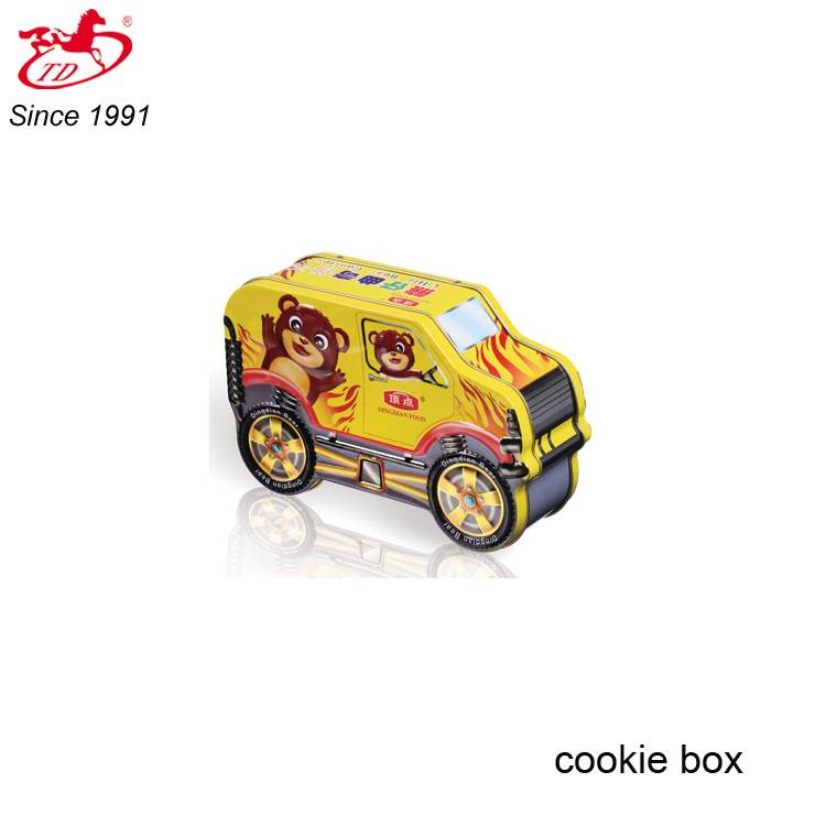 Special car shape cookie/candly/cake/chocolate tin box