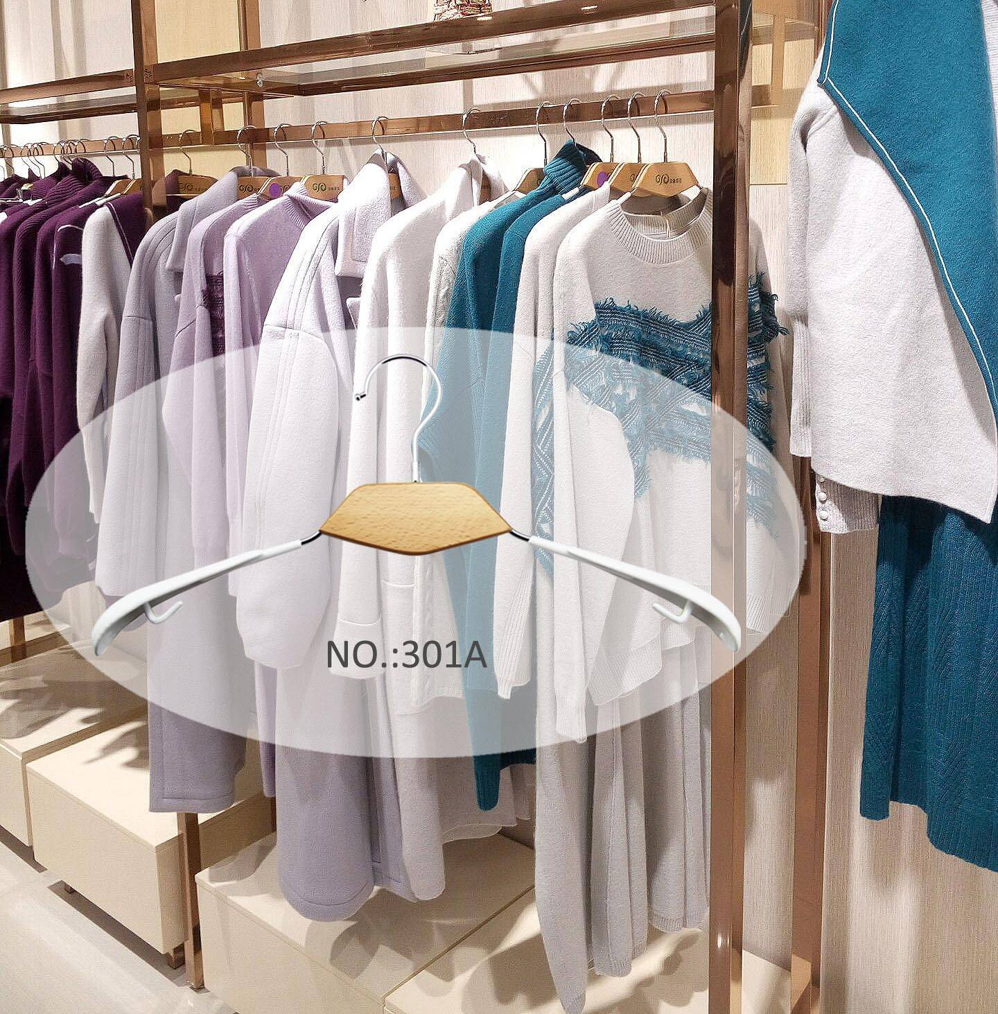 Multifunctional PVC Wooden Clothes Hanger Wholesale