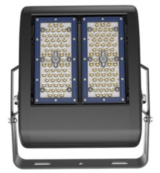 Newest 100W LED High Bay Light, 120lm/w, Philips 3030 with Unique Glare Free Design