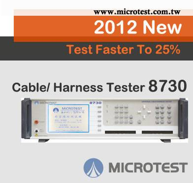 CABLE TESTER 8730---Made in Taiwan