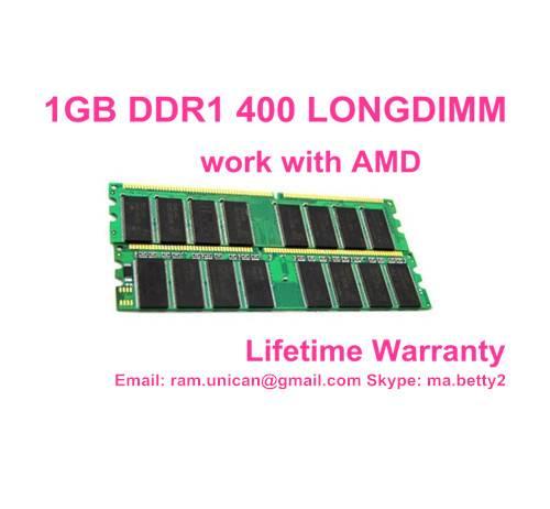 good price 1GB DDR1 400MHZ with lifetime warranty