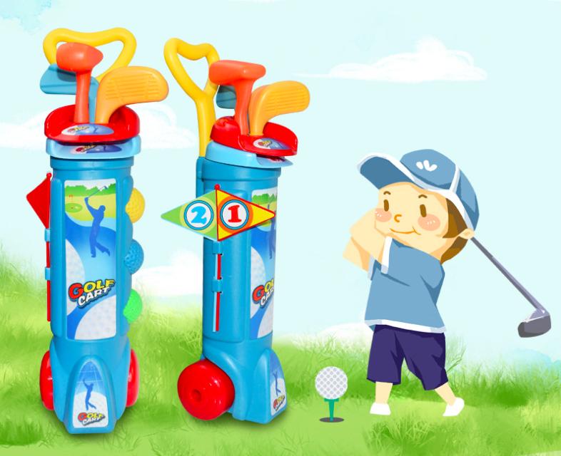 SURAVO Little Tikes TotSports Easy Hit Golf Set