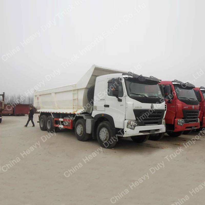 HOWO A7 8X4 Heavy Duty Tipper Truck 50t Dumper