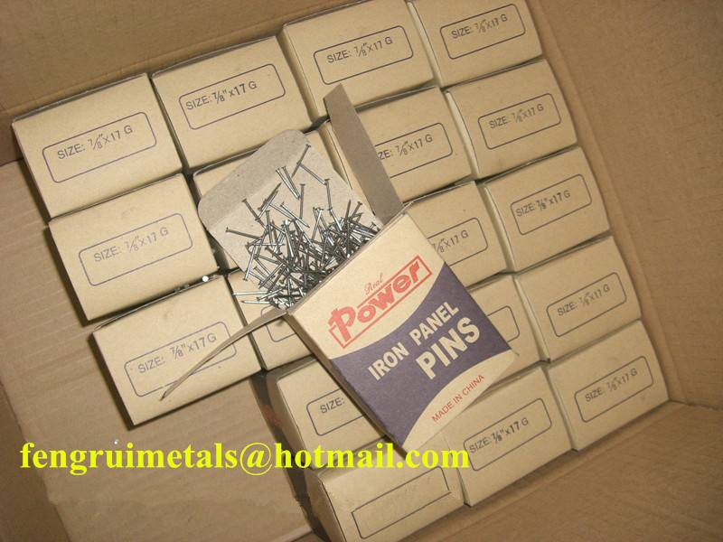 Hot sale iron panel pins