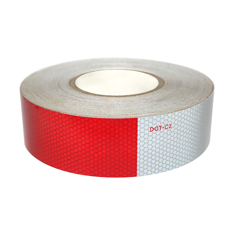 Honeycomb Pattern dot c2 Reflective Tape With Acrylic Material
