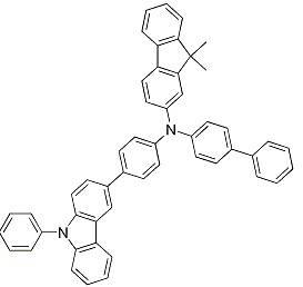 9H-Fluoren-2-aMine, N-[1,1'-biphenyl]-4-yl-9,9-diMethyl-N-[4-(9-phenyl-9H-carbazol-3-yl)phenyl][1242