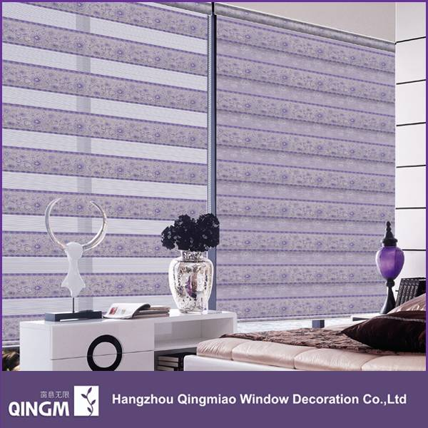 High Quality Anti-UV Sunscreen Fabric Jacquard Style Roller Blinds