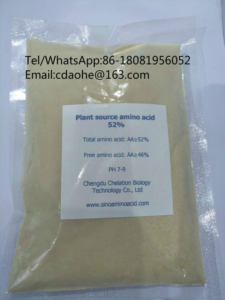 Solubled Amino Acid 52% Powder Fertilizer