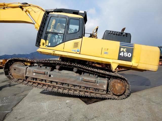 Used KOMATSU PC450-7 Excavator