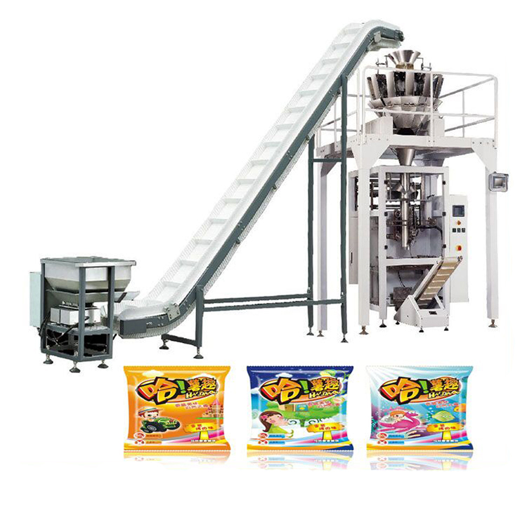 Multihead weigher ground coffee vertical form fill seal machine