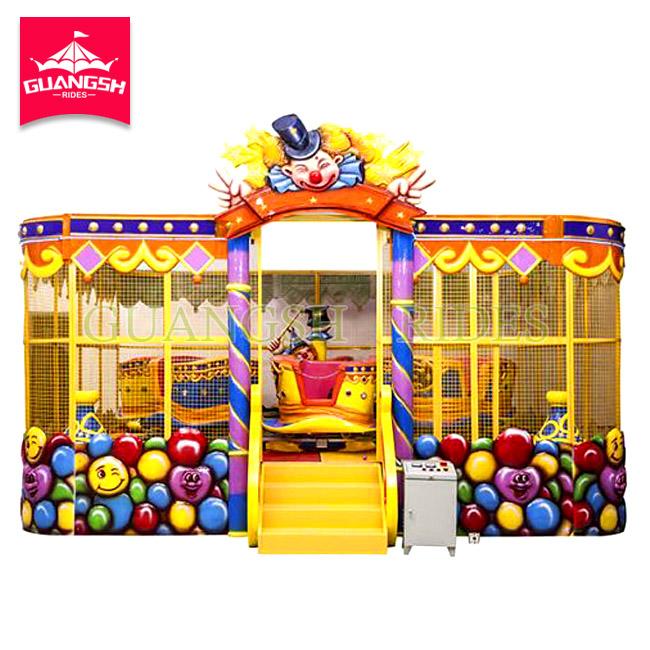 Carnival Fun Fair Playground Amusement Rides Kiddie Train Magic Spray Ball Car
