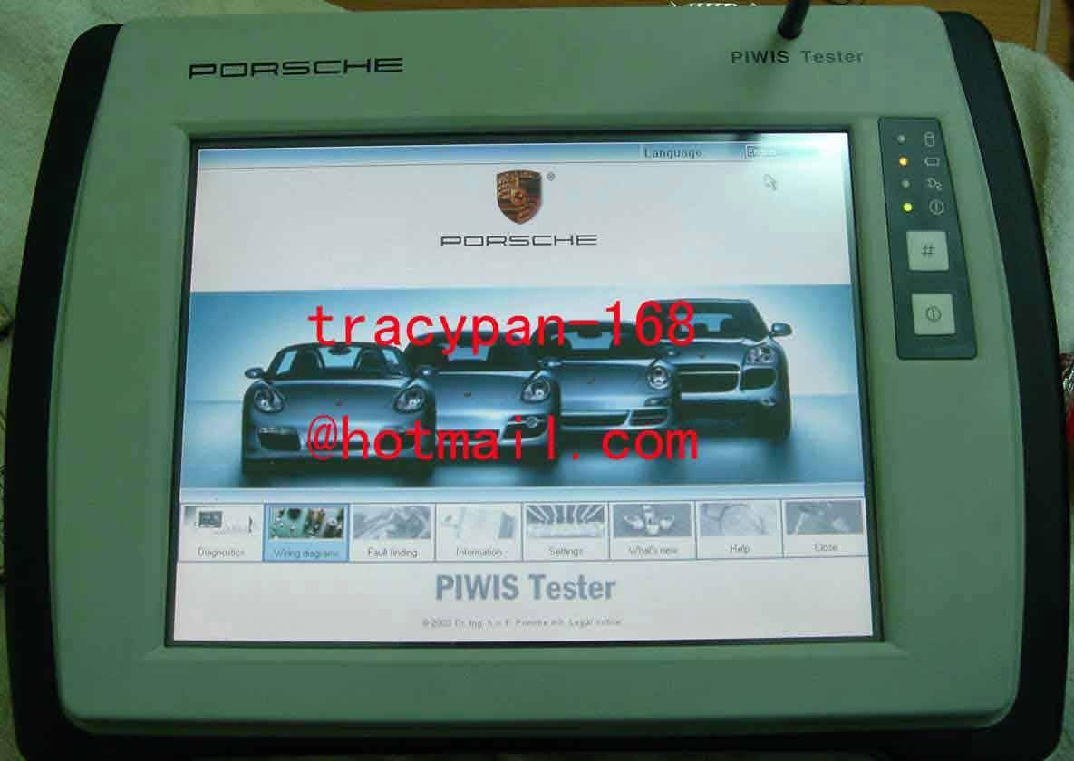 PIWIS for Porsche
