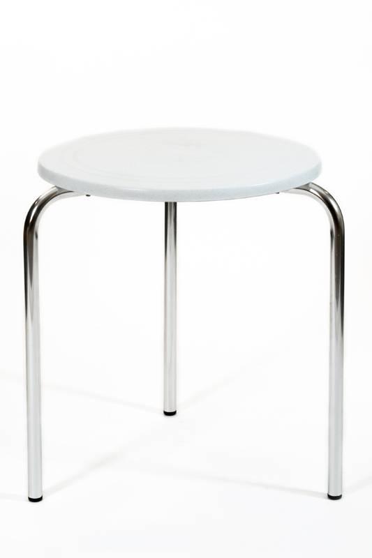 Aluminium Frame Plastic Table Mod. Amsterdam 114 Molded Polypropylene