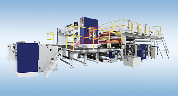 LY-ASCP2 Film Packaging Material Extrusion Lamination Machine