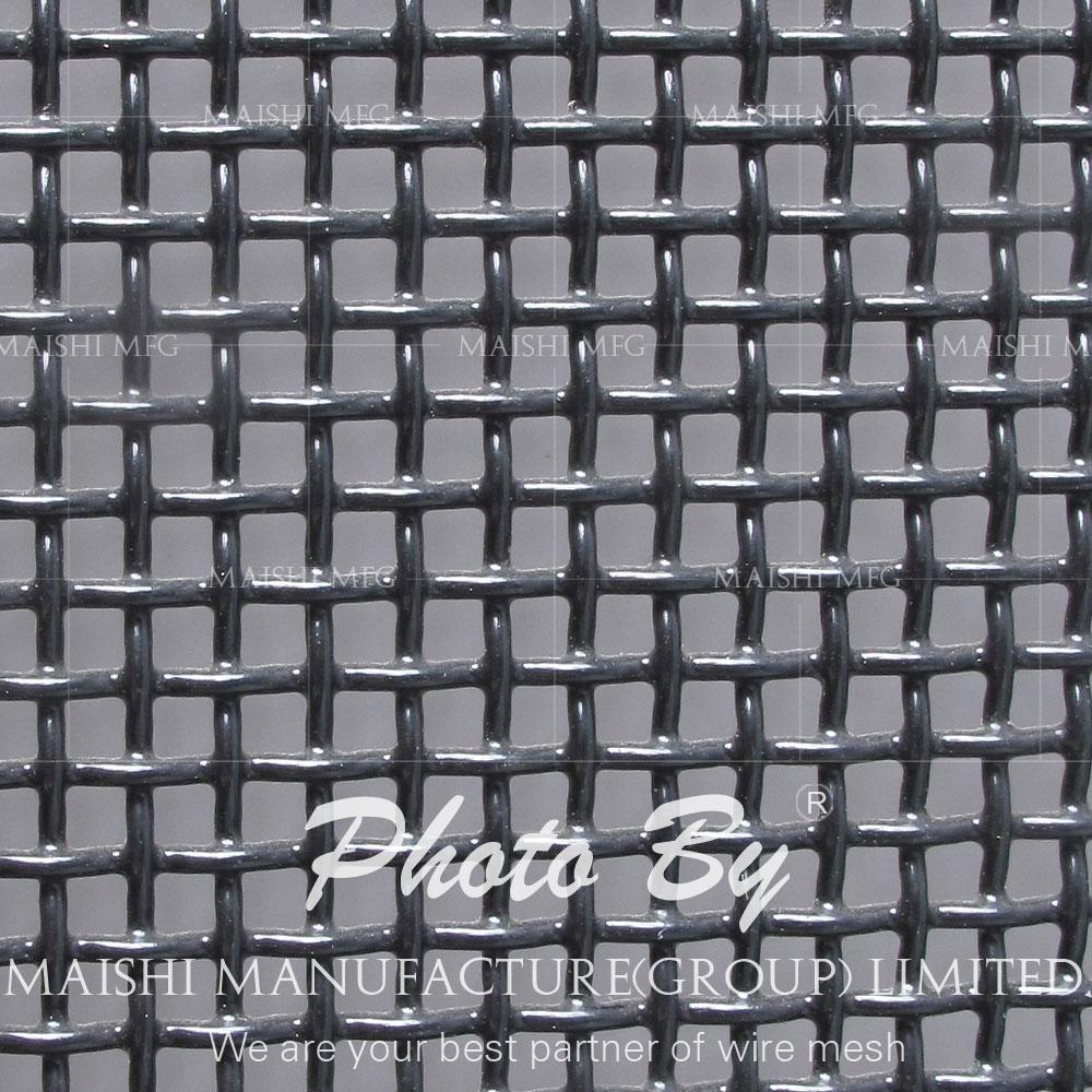 black powder coated security door screens