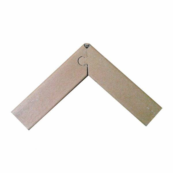 100% Recyclable  kraft paper edge protector for packaging