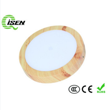 wood led ceiling light