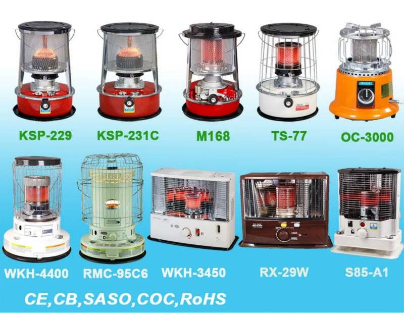 Fujix/Kerona brand Kerosene & Gas heater