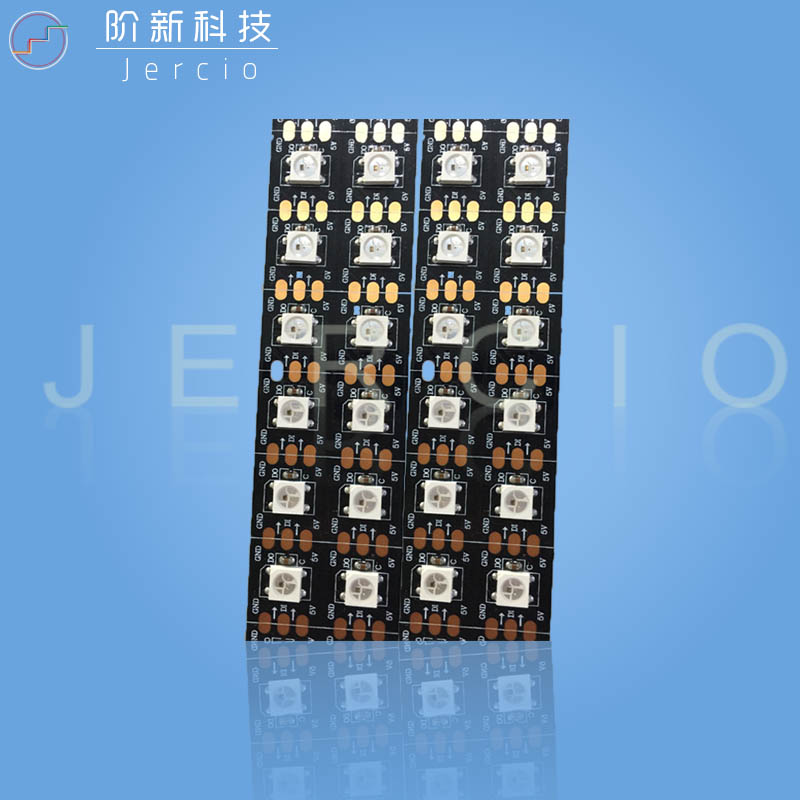 Jercio Flexible LED strip XT1511 74L-74LED, it can replace WS2812