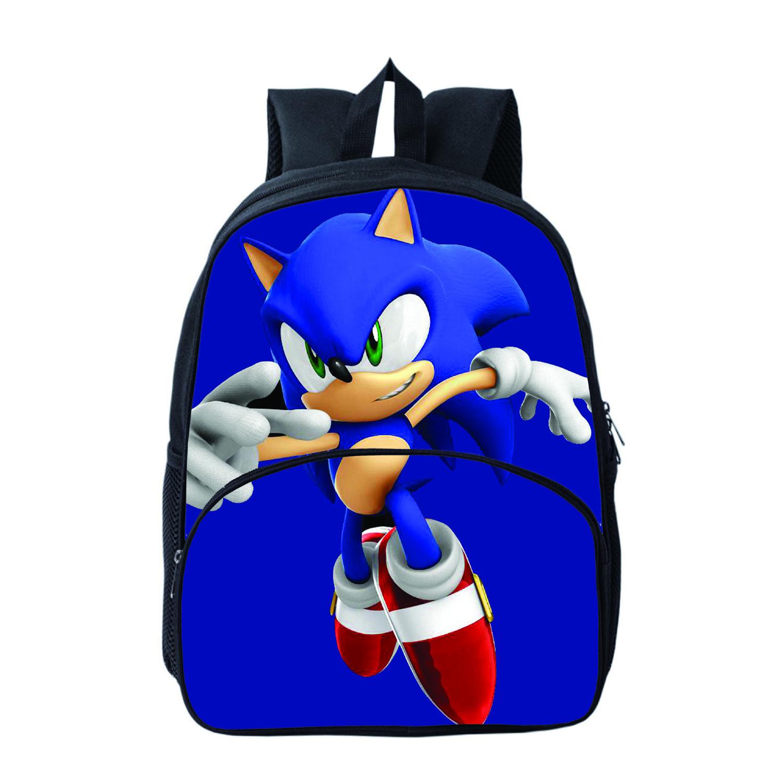 Sonic Backpack capacity School bag travel bag