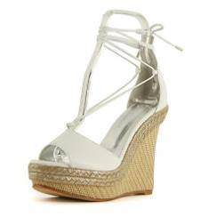 12cm Lesley wedge sandals