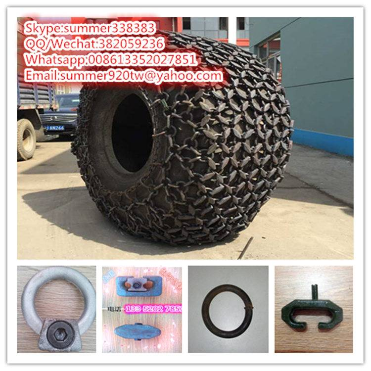 Supply 29.5-25 tire protection chain