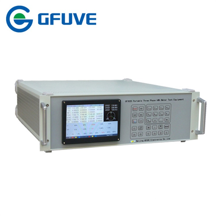 GF302D PORTABLE THREE PHASE KWH METER TEST EQUIPMENT
