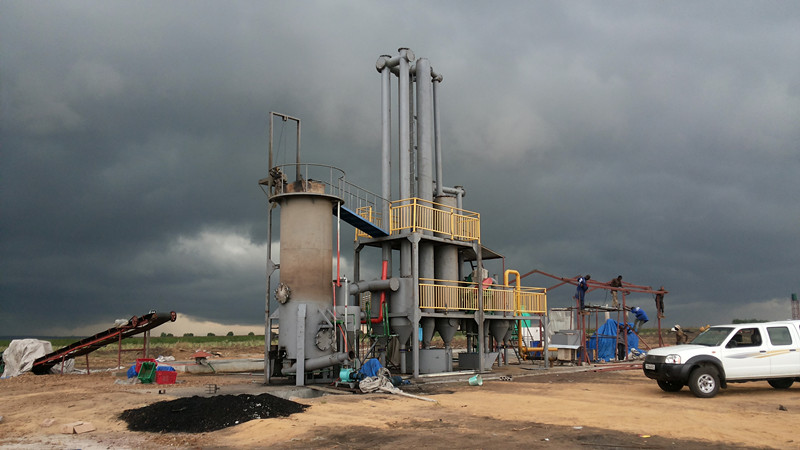 City Waste Gasification Power Plant