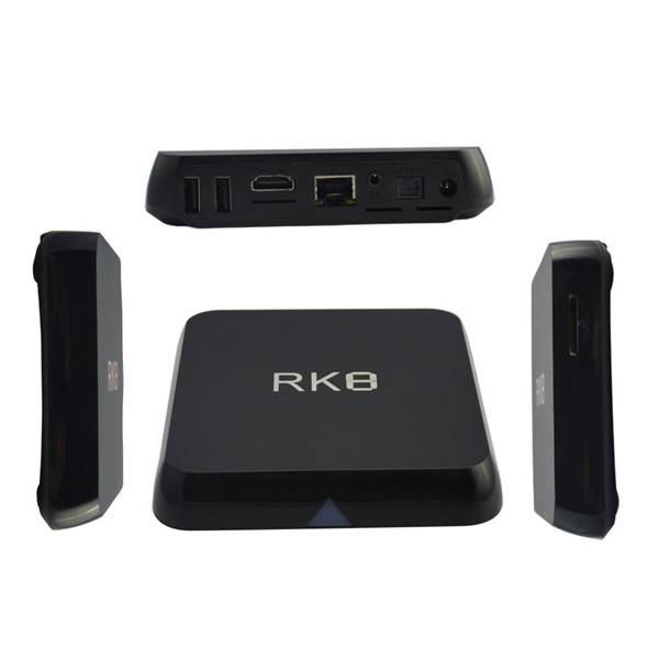 RK8 Android 5.1 TV BOX RK3368 64bits Octa core 2GB/8GB BT 4.0 2.4G/5G Dual Wifi AP6330 4K HDMI 2.0 K