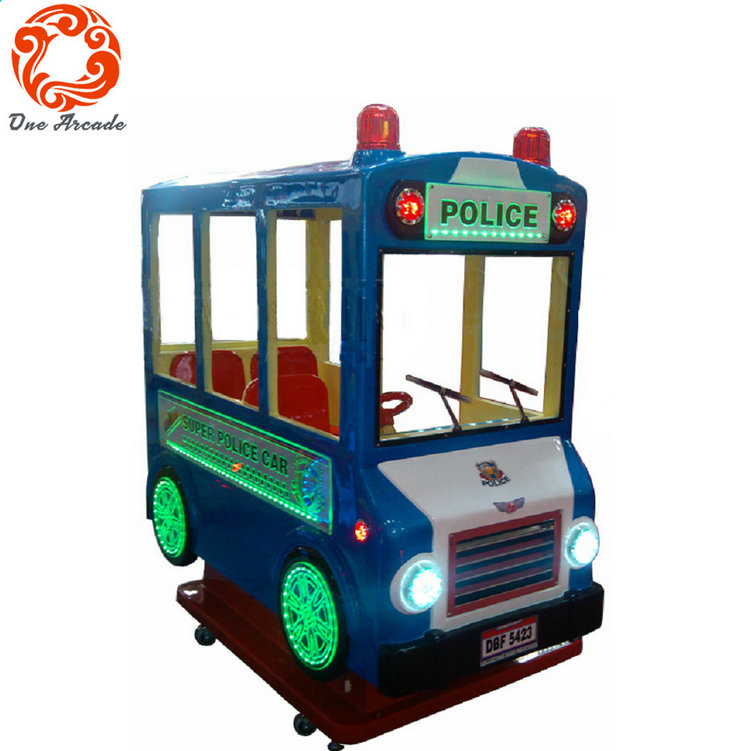 Amusement Coin Operated Shaking Ride Super Police Made In China