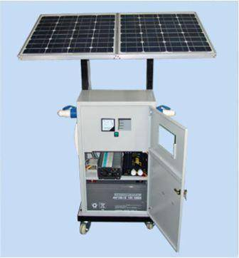100w solar portable system SST-100PPS
