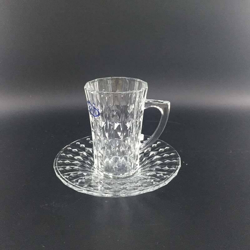 High quality glass coffee set 12068
