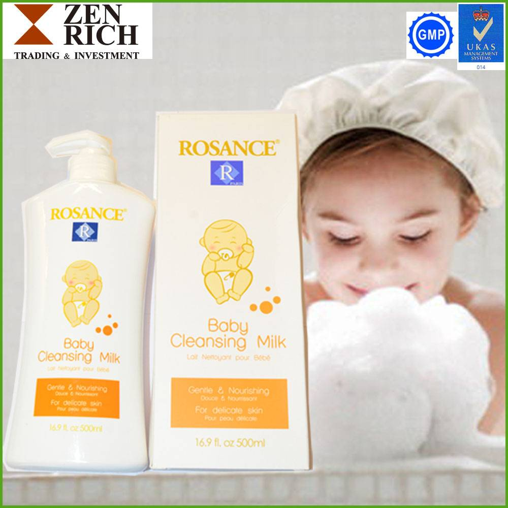Baby Cleansing Milk/Skin Whitening/Nourishing Shower Gel for Babies