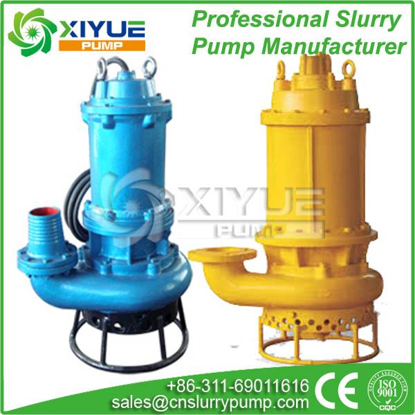submersible dredge sand pump