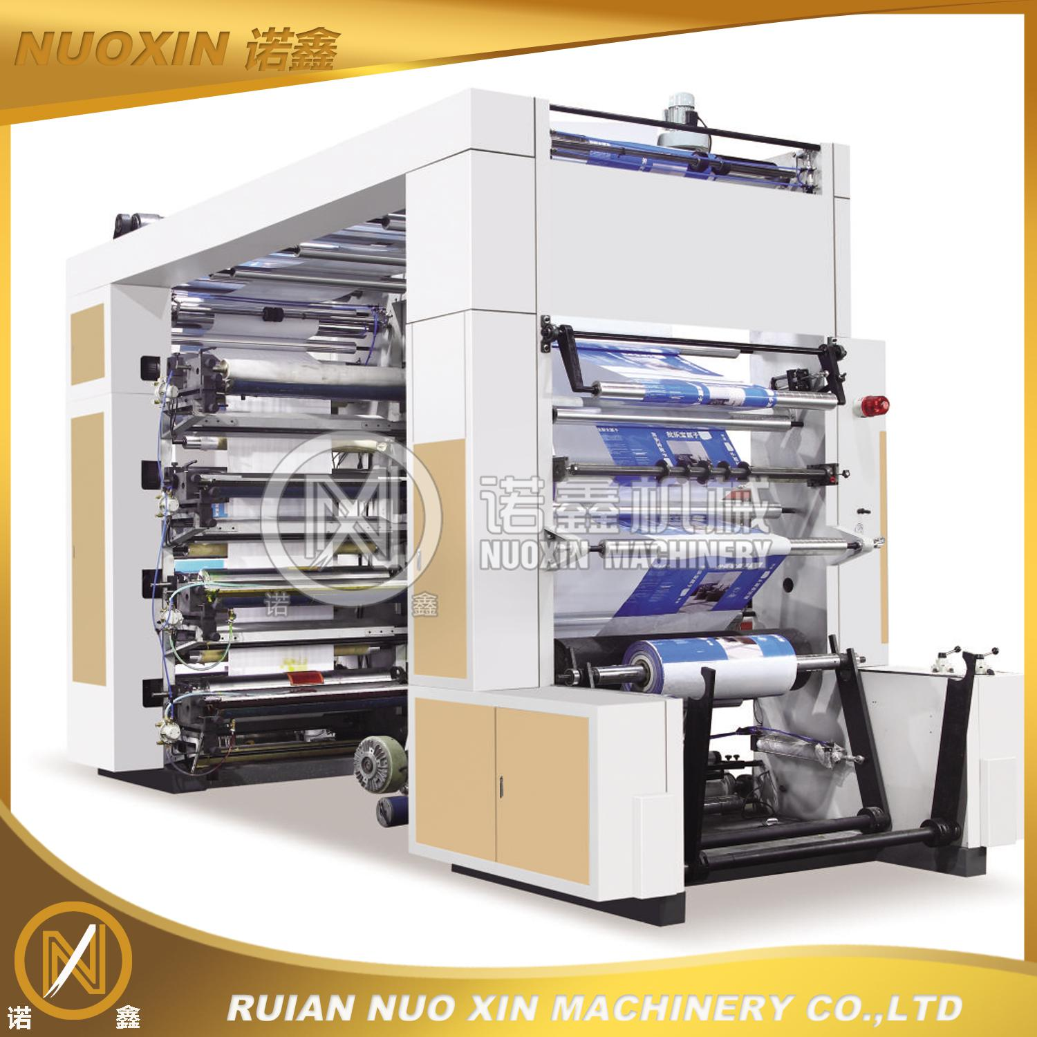NX-81000 8 color Flexographic Printing Machinery
