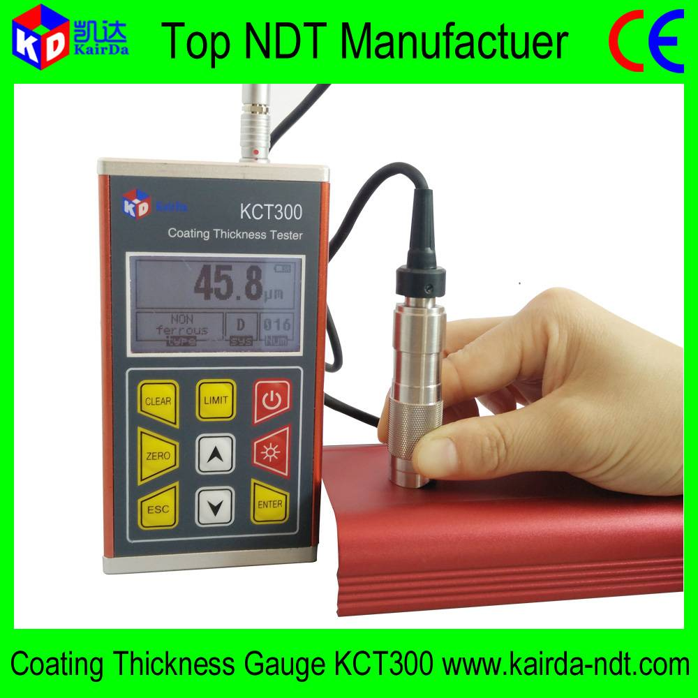 China Manufactuer Coating Thickness Gauge