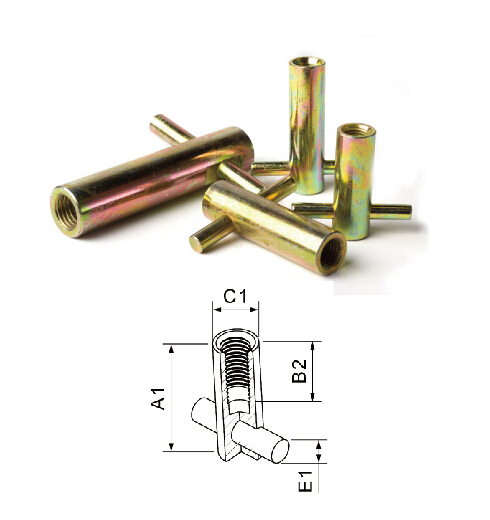 Heavy Duty Fixing Socket with Cross Pin