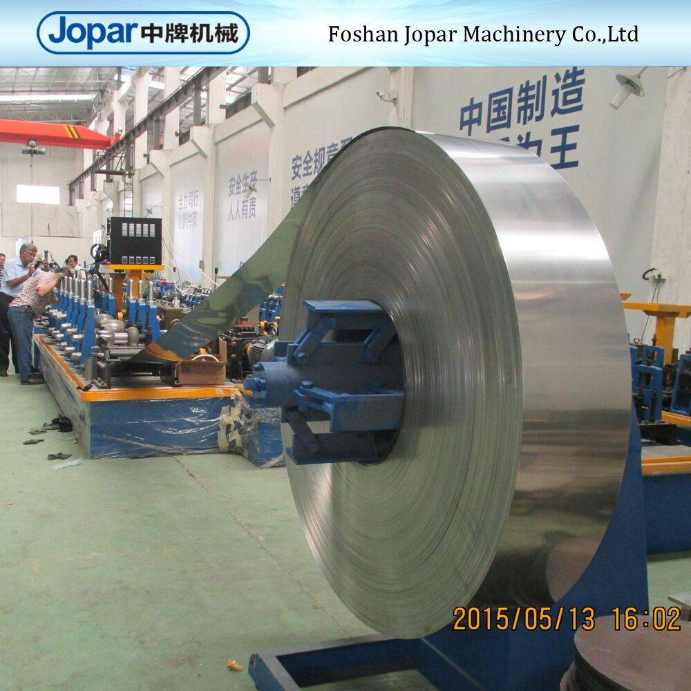 Automatic stainless steel welding pipe making machine