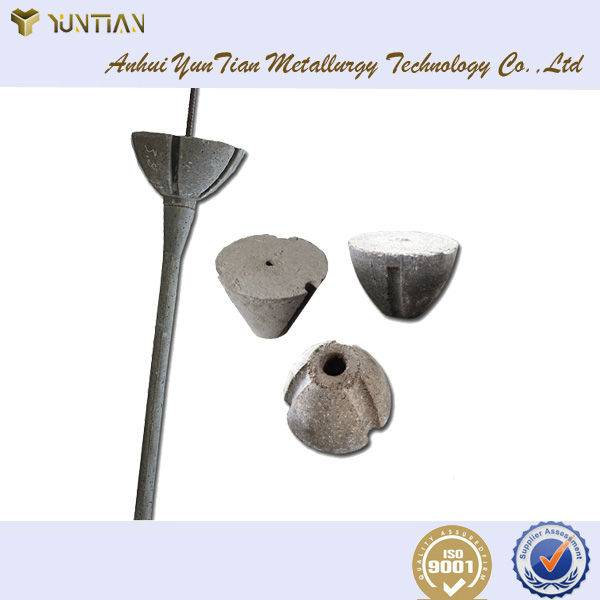 Yuntian brand slag stopping cone ,high quality refractory matter