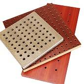 Office Building Application Sound-absorbing Board Wall Perforated Acoustic Panel