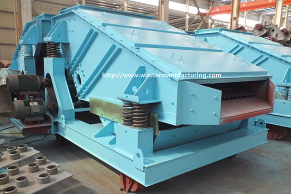 Mining Equipment ZK Linear Vibrating Screen with Low Price