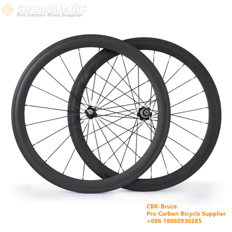 CW50C 50mm Road Bicycle Carbon Clincher wheelset