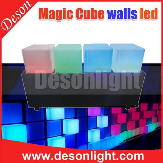 DMX Magic cube dynamic color walls light LD-768