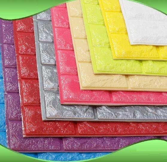 Baby-House Foam Tiles Nontoxic XPE Foam wall creative decoration bricks