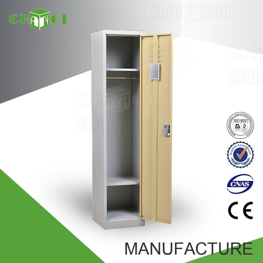 Changyuan CY-C101 bedroom waterproof steel single wardrobe
