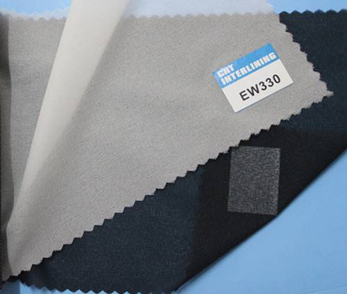 woven fusible enzyme wash interlining-EW330(interfacing)