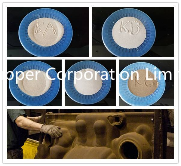 Kupper cerabead spherical ceramsite ceramic foundry sand
