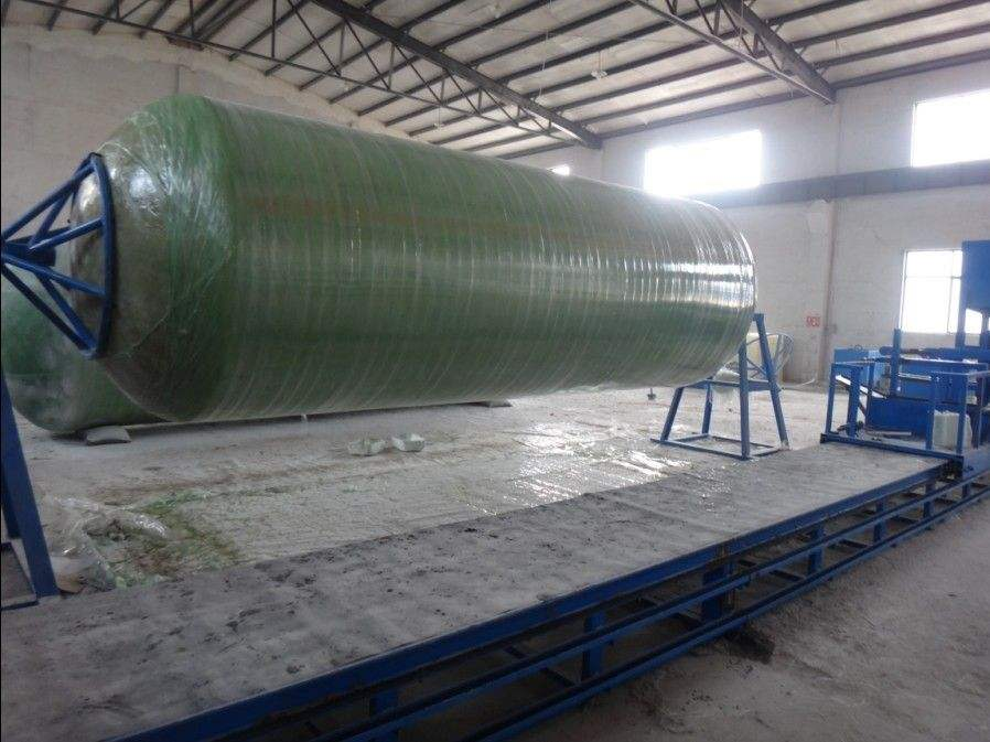 FRP/GRP tank production line